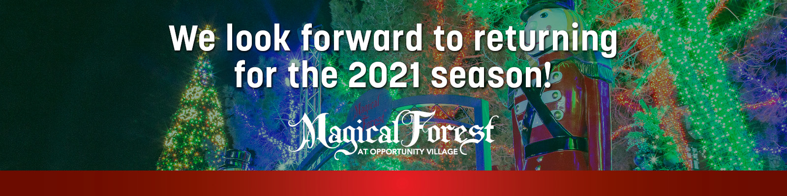 Magical Forest header 2020 canceled event